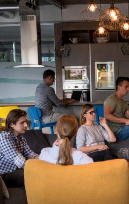 Blue Duck Digital Team Relaxing